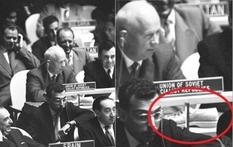 Khrushchev, boot and United Nations