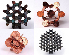 Sophisticated monetary geometry from an American sculptor