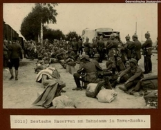 Рава-Русская во времена Первой мировой войны: подборка фотографий