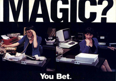 The beginning of the era of computers: the advertisers of the 1980s promised the consumer almost the moon
