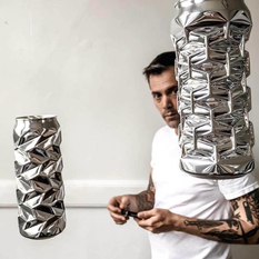 These aluminum can figures can hypnotize anyone