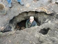 На Харьковщине нашли подземные тоннели казаков