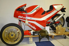 """Bimota DB1SR 1987 release, or the classic """"time capsule"""" in the original packaging"""