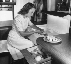 The kitchen of the future: how did Americans see interior design in the 1940s?