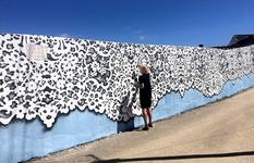 Polish artist originally transforms the city landscapes