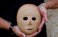 Mysterious ancient mask was found in Israel