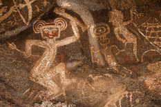 Scientists believe that the cave paintings of primitive people - images of constellations