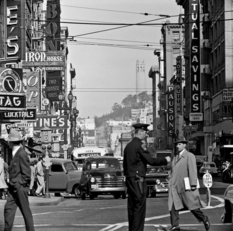 Street shots of San Francisco 1940-60s. Photographer Fred Lyon