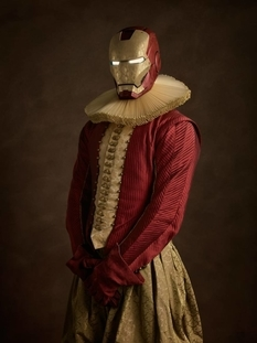 Iron Man, Superman and Catwoman: find out how the superheroes would look like in the 17th century