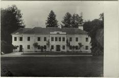 Як виглядав палац Лянцкоронських на початку ХХ століття?