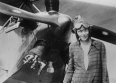Амелія Мері Ерхарт - перша над океаном