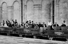 Opening of the world's first metro