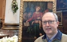 Michelangelo's alleged painting was stolen from the Belgian church