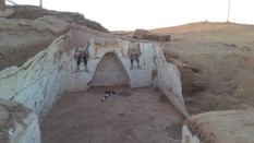 Tombs of the Roman Empire were found in Egypt