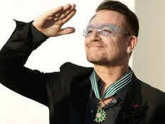 Bono from U2: a rock star collecting artworks
