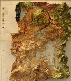 2 in 1: historical maps and modern aerial photographs