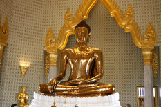 Секрет цієї золотої статуї приховувався понад 200 років