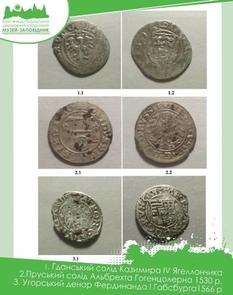 Найдавніша монета з цього скарбу - біллоний гданський солід Казимира IV