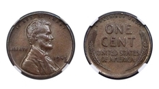 Монета 1943 року, отримана на здачу, виставлена на аукціон