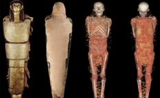What did the scanning of ancient Egyptian mummies tell scientists from Spain?