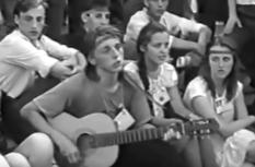Пісні на сходах: відео з фестивалю «Червона рута» 1991 року