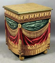 Как техника тромплей связана со старинной мебелью?