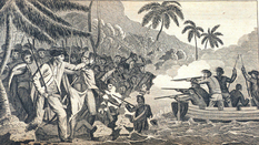 The death of Captain Cook