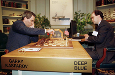 A chess player against the computer: the defeat of Garry Kasparov
