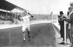 Faster! Above! Stronger! Rare shots of the 1908 Olympic Games