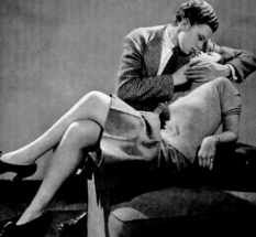 The 1940s LIFE magazine knows how to kiss properly: a photo guide