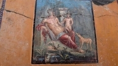 In Pompeii, archaeologists found a mural depicting Narcissus