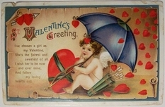 A selection of vintage photos for Valentine's Day