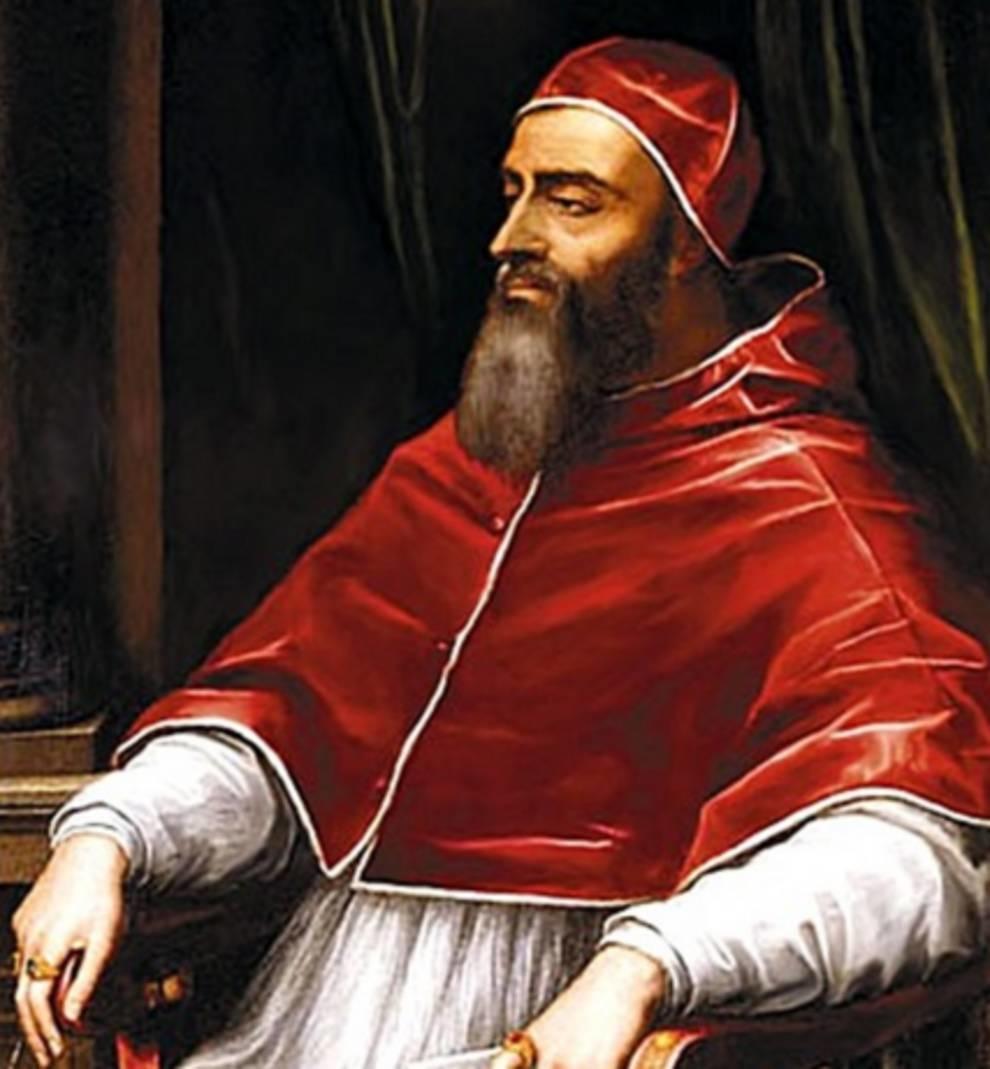 Последнее папское благословение императора
