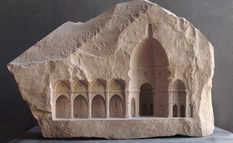 Imprinted in stone: carved architectural spaces by Matthew Simmonds