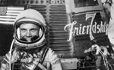 John Glenn - the first American to fly around the Earth