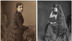 Long haired beauties of the Victorian era who never cut their hair