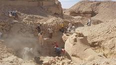Тіло лева і голова барана: в Єгипті розкопали кріосфінкса