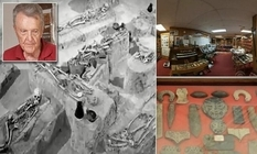 2000 bones from ancient tombs: a terrible find in a collector's house