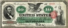 Why did the American dollar get its unusual nickname?