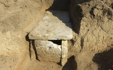 Во время обработки земли грузинка нашла древнее захоронение