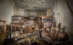 In dust and rust: the old quarry kept rare cars for more than 70 years