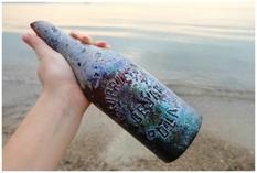 200-річна пляшка і кільце зі скла: незвичайні знахідки жительки Словенії