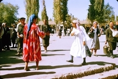 Tashkent in 1956 in the pictures of the French politician
