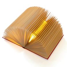 Старі книги, обгортки від жуйок і географічні атласи у вигляді оригінальних світильників