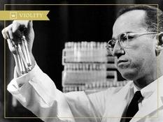 Jonas Salk and his polio vaccine