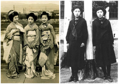 What did the youth of different countries look like 100 years ago?