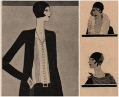 Straw hats and loose jackets: fashion trends in the spring of Lviv in 1929