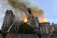 Пожар ликвидирован. Собор Парижской Богоматери горел 9 часов