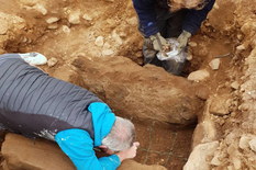 British scientists found out the value of a knife found in an ancient grave