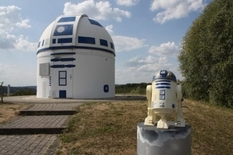 The story of how the observatory became a Star Wars droid